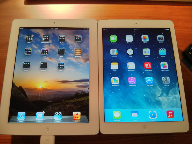 iPad 3 and iPad Air