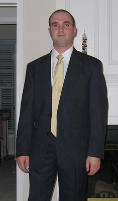 A rate photo of me in a suit
